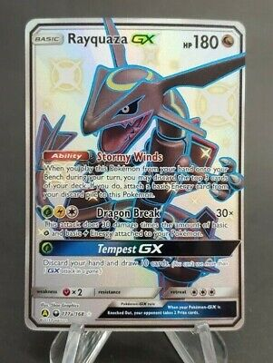 $ CDN124.99 • Buy Pokemon Rayquaza GX 177a/168 Hidden Fates Full Art - Mint