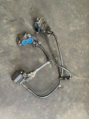 AU125 • Buy Yamaha Xjr1300 Pair Of Front Blue Spot Calipers With Lines, Brake Masterclyinder