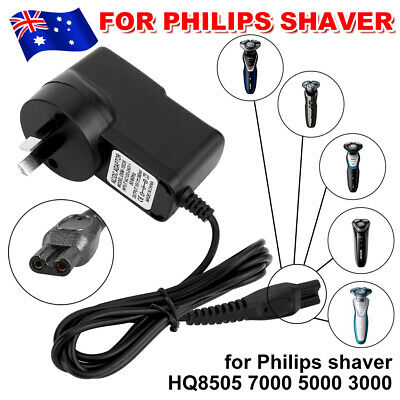 AU18.45 • Buy Au Charger Power Lead Cord For Philips Shaver Hq7115 Hq7120 Hq7130 Hq7140 Hq7145