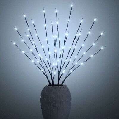 Twig Lights LED Branch Lights Flexible Branch Decoration Light Battery Operated • 9.99£