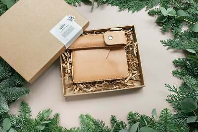 $69 • Buy Christmas Leather Gift Set. Kindle Leather Sleeve And Pencil Case Set. FREE D...