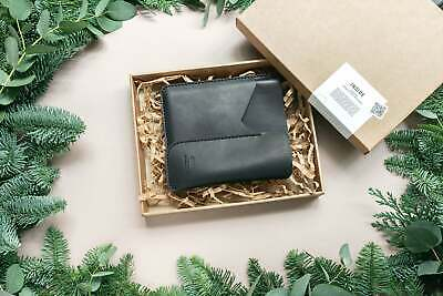 $75 • Buy Christmas Leather Gift Set. Kindle Leather Sleeve And Readers Eyeglasses Case...