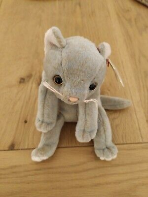 £3.50 • Buy Retired TY Beanie Baby - Scat The Cat With Tag 1998.