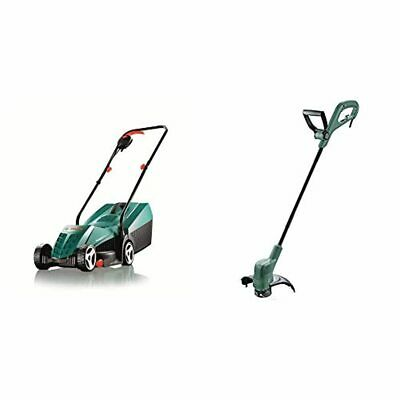 Bosch Rotak 32R Electric Rotary Lawnmower With 32 Cm Cutting Width & Home And Ga • 117.16£
