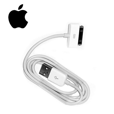 £1.39 • Buy 1M 30-Pin To USB Data Sync Charger Cable For IPhone 4S IPad IPod Classic Video