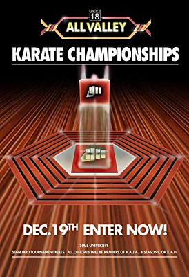 $16.09 • Buy Karate Kid Tournament All Valley POSTER From 1984 Metal Tin Sign Well Pub Dec