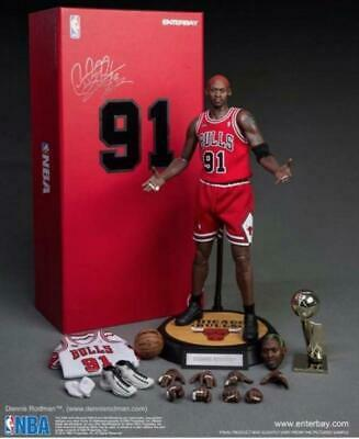 $1476 • Buy Enterbay NBA Collection Chicago Bulls Dennis Rodman Worm 1/6 Scale Figure 33cm