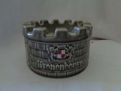 £17 • Buy Large Kronenbourg Castle Ashtray By Wade