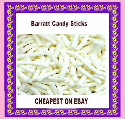 £8.29 • Buy Barratt Candy Sticks Pineapple Chewy Sweets 1KG