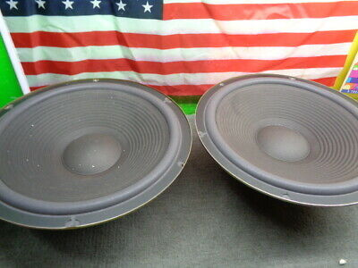 $199.99 • Buy Estate* Realistic Mach Two 3807 Japan 15  Woofers Speakers New Surrounds >u Tube