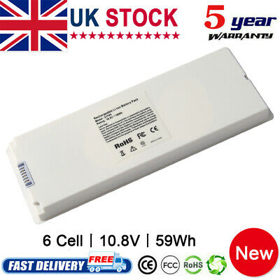 £17.99 • Buy 6 Cell A1185 Battery For Apple MacBook 13  A1181 2006-2009 (59Wh 10.8V) Notebook