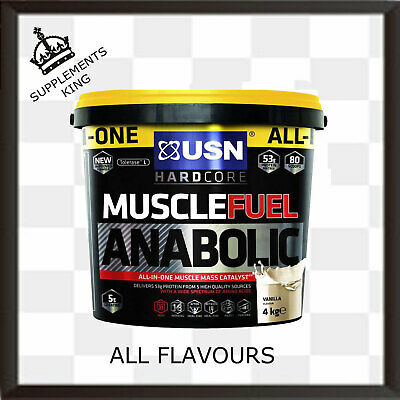£49.99 • Buy USN Muscle Fuel Anabolic All-In-One Lean Muscle 4kg - ALL FLAVOURS