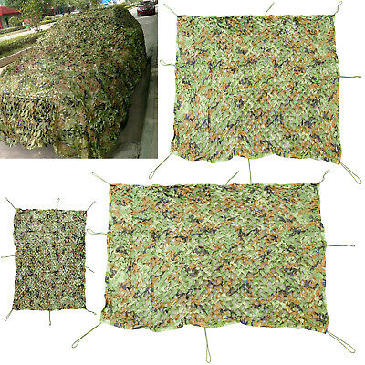 £11.49 • Buy Camouflage Net Hunting Shooting Camping Woodland Army Camo Netting Hide UK