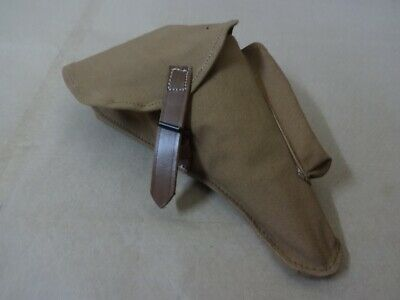 Canvas Holster For WW2 Luger P08 DAK Reproduction U502 • 20.79£