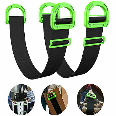 AU21.80 • Buy Lifting Moving Strap Furniture Carrying Belt Heavy Moving Rope W/Bulky Handle AU