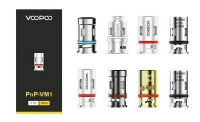 VOOPOO PnP Replacement Coils For Drag X S Vinci R Air Argus Find Trio Coil Heads • 9.95£