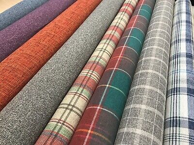 £12.99 • Buy NEXT Wool Fabric Upholstery Checks Plain Material Curtain  Furnishing140cm Wide