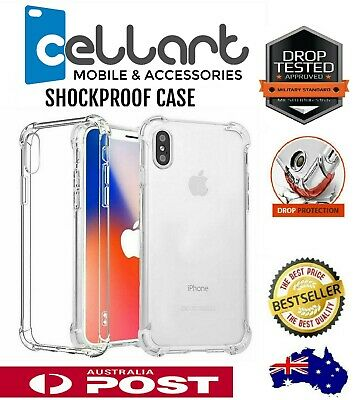 AU5.49 • Buy Clear Shockproof Bumper Back Case Cover For IPhone 12 11 Pro XS MAX X XR 6 7 8 +