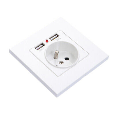 1 Pc Wall Socket European Standard French Standard Wall Socket Charger For Home • 8.44£