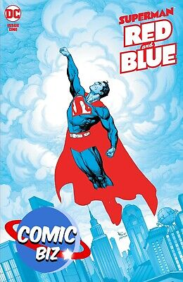 £4.99 • Buy Superman Red & Blue #1 (2021) 1st Printing Main Frank Cover Dc Comics