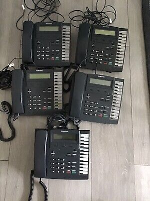 £40 • Buy Samsung DCS - 5 X 12b Telephones KPDCS LCD - Used But All Fully Working