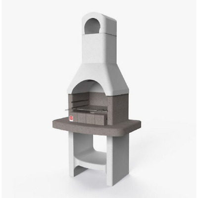 £494.76 • Buy Lucerna Barbecue In Refractory Concrete Cm 88x58x179,1 With Grill