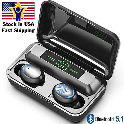 $ CDN24.25 • Buy Bluetooth Earbuds For Iphone Samsung Android Wireless Earphone IPX7 Waterproof