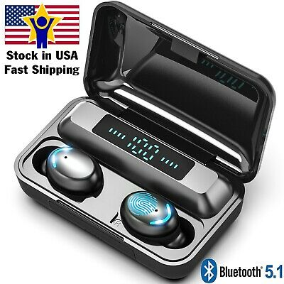 $ CDN25.05 • Buy Bluetooth Earbuds For Iphone Samsung Android Wireless Earphone IPX7 Waterproof
