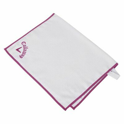 £13.46 • Buy Callaway Players Towel 2017 (Pink, 20 X30 ) Microfiber Golf NEW