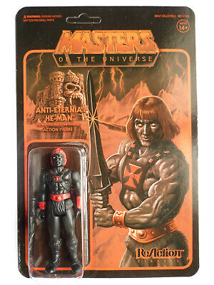 $59.99 • Buy Mattel Super7 Reaction MOTU Masters Of Universe Anti-Eternia He-Man Figure 2018