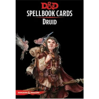AU32.45 • Buy D&D Spellbook Cards Druid Revised 2018 Edition - Dungeons And Dragons