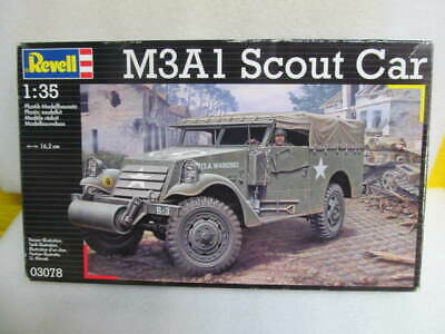 $33.97 • Buy Revell 1:35 M3A1 Scout Car Military Kit #03078 NEW
