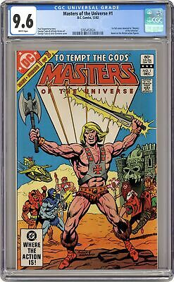 $335 • Buy Masters Of The Universe #1 CGC 9.6 1982 3765453024