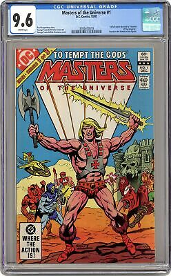$335 • Buy Masters Of The Universe #1 CGC 9.6 1982 3765453019