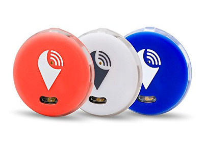 AU29.01 • Buy TrackR 3 Pack Pixel Red White Blue, Item Tracker IOS/Android/Alexa Skill