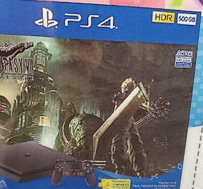 AU900.12 • Buy PlayStation 4 Pro FINAL FANTASY VII Remake Pack Limited Edition PS4 500GB New