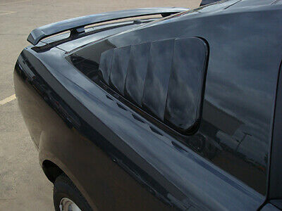 $199 • Buy PAINTED FOR Ford Mustang 2005-2009  SIDE WINDOW LOUVERS NEW - NO DRILL ABS!