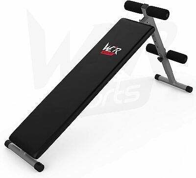 £44.99 • Buy Foldable Sit Up Bench Abdominal Weight Bench Ab Crunch Home Gym Fitness Exercise