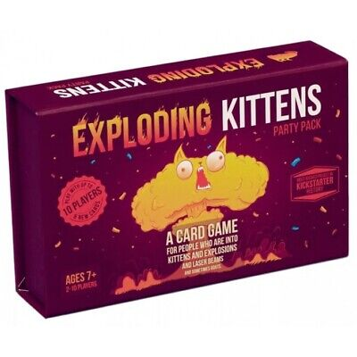 AU59.45 • Buy Exploding Kittens Party Pack