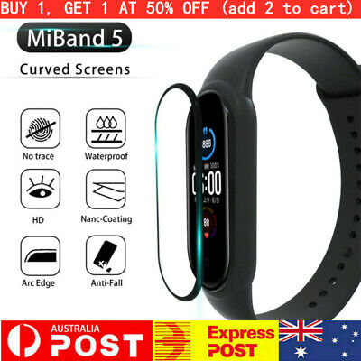 AU9.49 • Buy For Xiaomi Mi Band 5 Mi Band 1/2/3/5 Pcs 3D Curved Film Screen Protector Miband