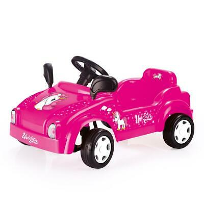 £32.99 • Buy Dolu Pink Unicorn Smart Car Kids Ride On Toy Pedal Powered Operated Girls 3 Yrs+