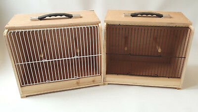 £22 • Buy Wooden Stackable Carry/display/transport Cage Flat Pack White/black Fronts