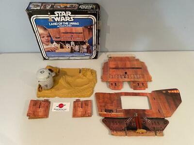 $ CDN238.45 • Buy 1979 Land Of The Jawas Complete With Box Vintage Star Wars Kenner Playset