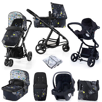 AU846.77 • Buy Cosatto Giggle2 Stroller, Travel System 3 In 1 Accessories Bundle Baby Car Seat