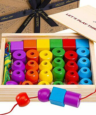 £19.99 • Buy Wooden Toys   Perfect Learning Toys For 2+ Years Old   Toddler Activities Toys