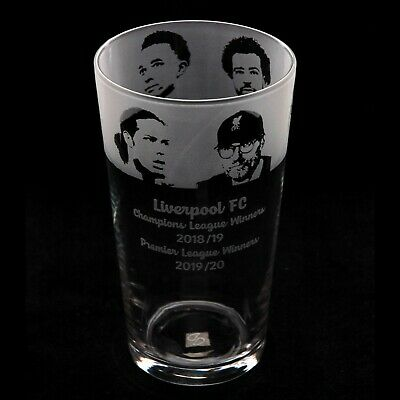 £15.99 • Buy Liverpool FC - Engraved Pint Glass | Gift - Present