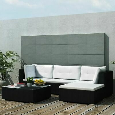 Garden Lounge Sets 14 Pieces Outdoor Furniture Patio Poly Rattan Sofa Seat X9F3 • 704.99£