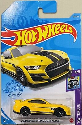AU6.88 • Buy Hot Wheels 2020 Ford Mustang Shelby GT500 Yellow 2021 F Box New Release