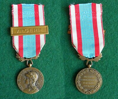 £35 • Buy French Medal For Operations In North Africa,  Algeria FREEPOST