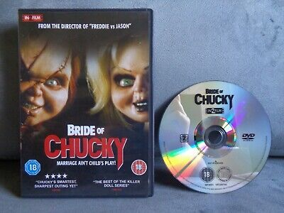 £3.99 • Buy Bride Of Chucky (child's Play) Dvd In Excellent Condition